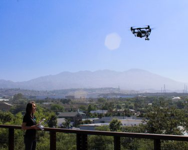 Haley flying drone