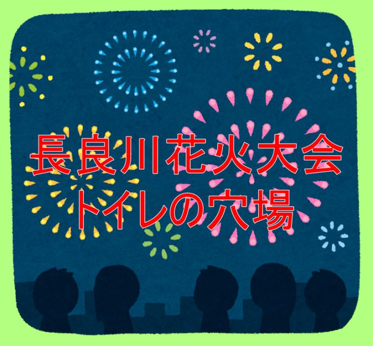 長良川花火大会のトイレの穴場紹介!アクセス方法と観覧スポットも!3
