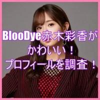 BlooDye赤木彩香がかわいい!身長と年齢や経歴などプロフィールを調査7