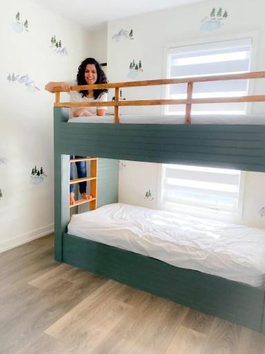 Custom boys bunk bed