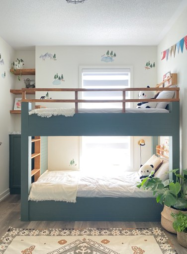 IKEA Bunk bed makeover