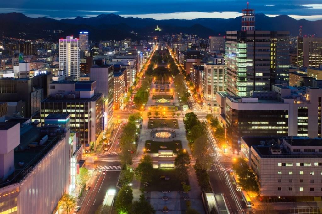 Cityscape Of Sapporo at Odori Park, Hokkaido, Japan, Sapporo (Canva)