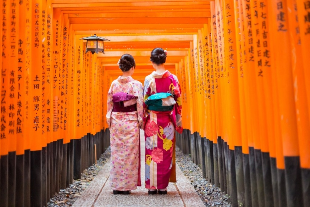 Fushimi inari Shrine by Kasto (Canva)