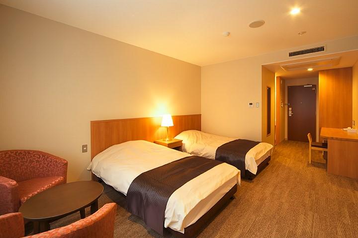 Motosu View Hotel Twin Room