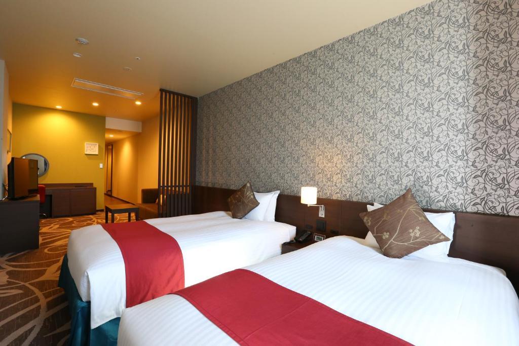 Quintessa Hotel Osaka Bay Standard Twin Room