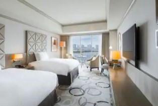 Twin Deluxe Room Hilton Tokyo Odaiba (3.2)