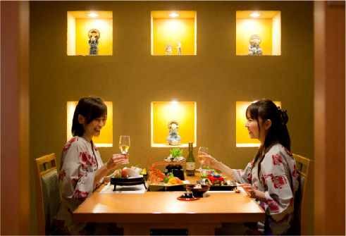 Restaurant (Private Room) - Dogo Prince Hotel (Official)