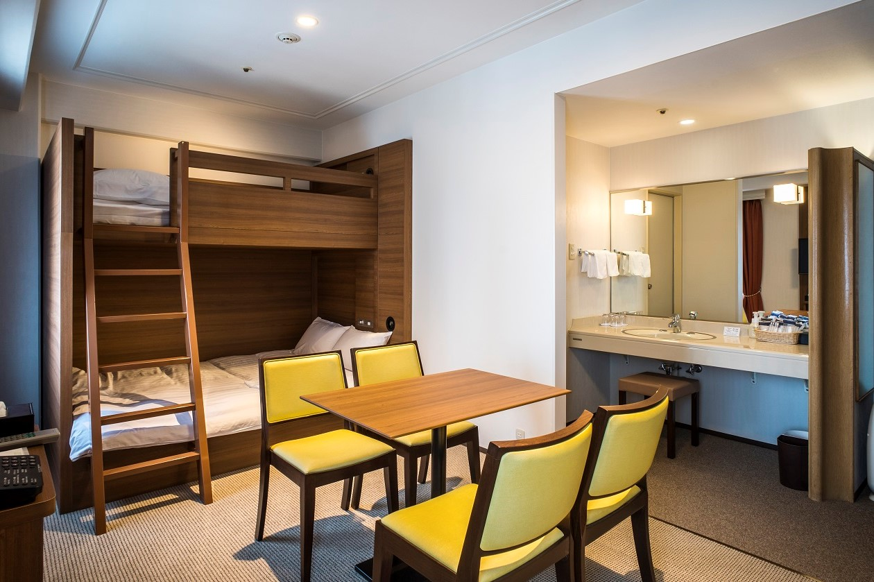 Bunk Bed 2 - Hotel New Hankyu Osaka Annex (Official)