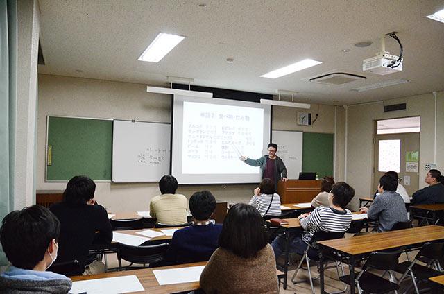 ウリマル(韓国語)ワークショップは簡単な会話