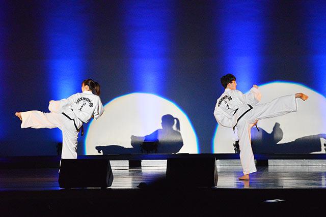 テコンドー演舞