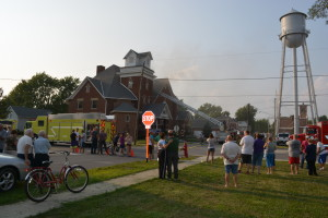 McComb Church Fire