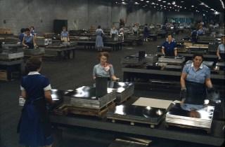 Women Working in Tin Mill