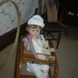 baby doll, hoop, nursery