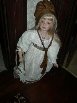 doll, upstairs hall