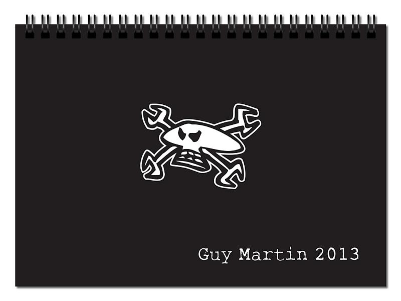 Guy Martin 2013 Calendar