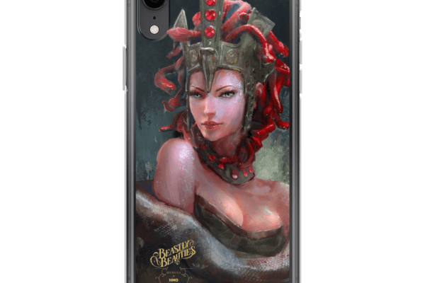 Beastly Beauties Medusa iPhone Case