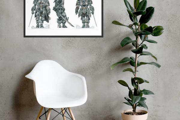Bounties of Bathos – Necrosis Framed photo paper poster