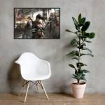 Bounties of Bathos – Ren Premium Framed photo paper poster
