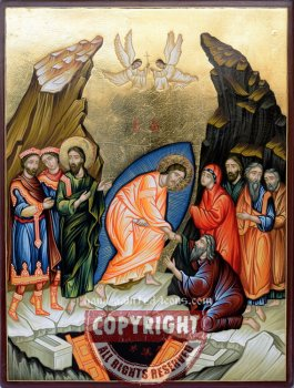 The Resurrection-28x21-hand-painted-icon