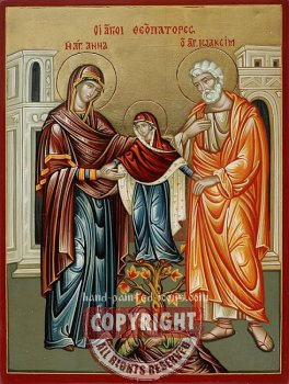 St Joachim, St Anne and The Virgin Mary