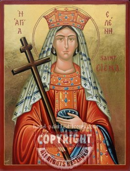 Saint Helena-hand-painted-icon