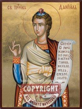 Saint Prophet Daniel- hand-painted icon