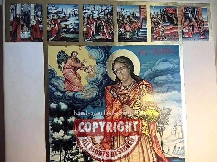 9. Orthodox Byzantine icon- painting process-02