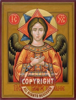 Christ-The angel of light-hand-painted-orthodox-icon