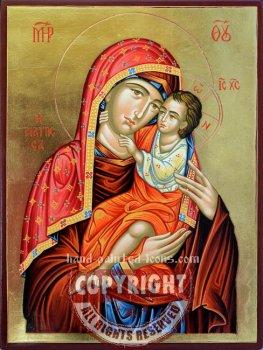 Panagia Giatrissa-hand-painted-icon