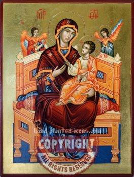 Panagia Pantanassa-Vsetsaritsa-28x21-hand-painted-icon
