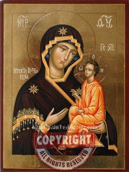 The Mother of God-Yugskaya-hand-painted-icon