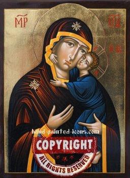 Theotokos of Tolga- Tolgskaya-hand-painted-icon