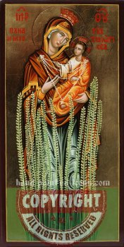 Panagia Myrtidiotissa-hand-painted-icon-28x15-v3