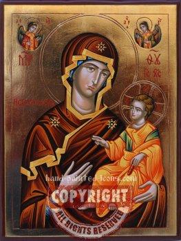 The Holy Virgin Psihosostriya(Dushespasitelnitsa)- hand-painted icon