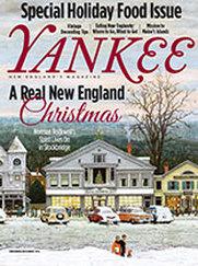 Yankee Magazine cover November/December 2013 issue