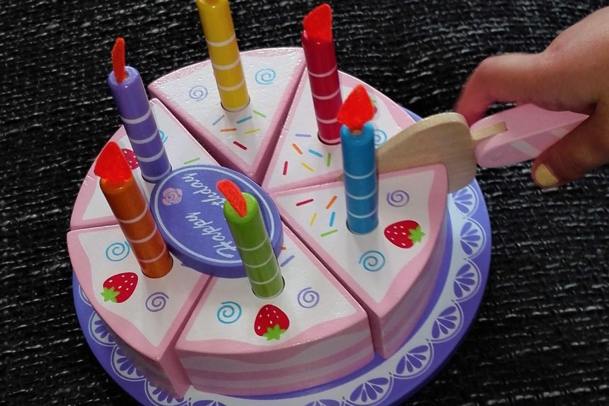 Zahlentorte Numbers Cake Kuchenmomente