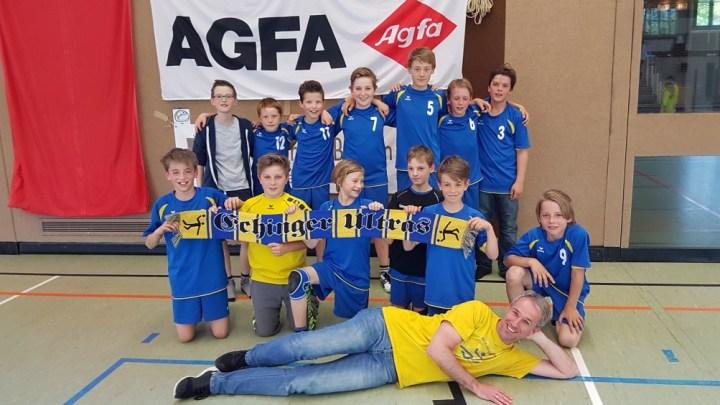 Männliche D-Jugend qualifiziert sich bereits im ersten Anlauf für die Bezirksoberliga!