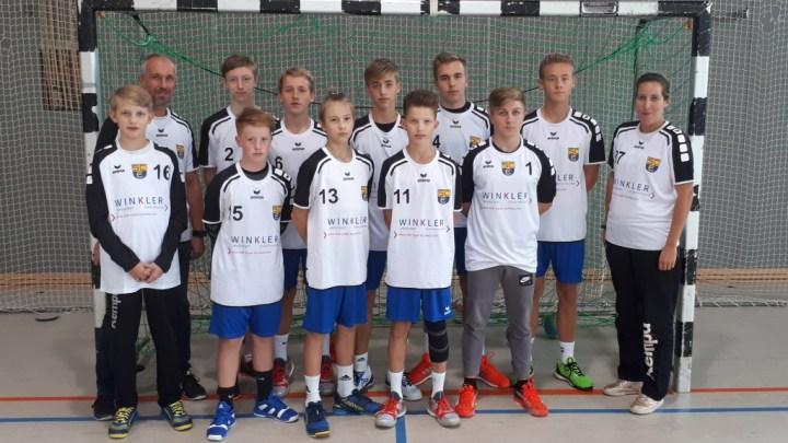 Herzlichen Dank an die Firma Winkler Schaltanlagen Ingolstadt für die C-Jugend-Aufwärmtrikots!