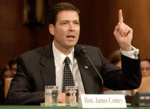 JAMES COMEY NOMINATED AS US DEPUTY ATTORNEY GENERAL.