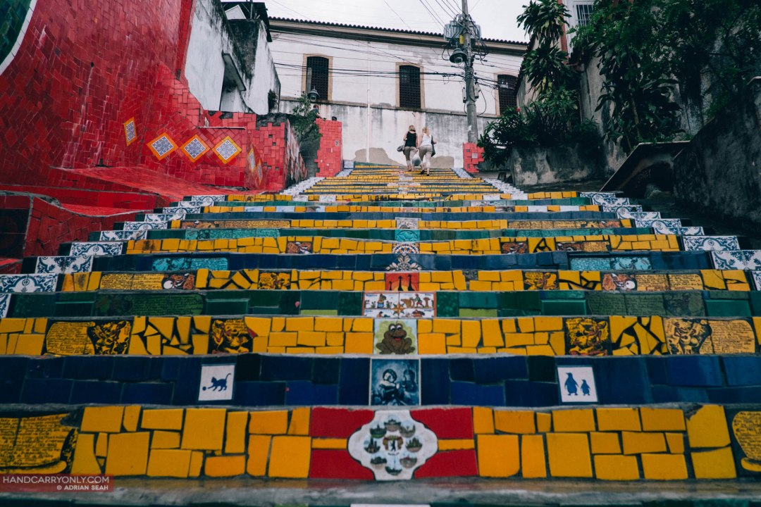 Escadaria Selarón, work of Chilean-born artist Jorge Selarón