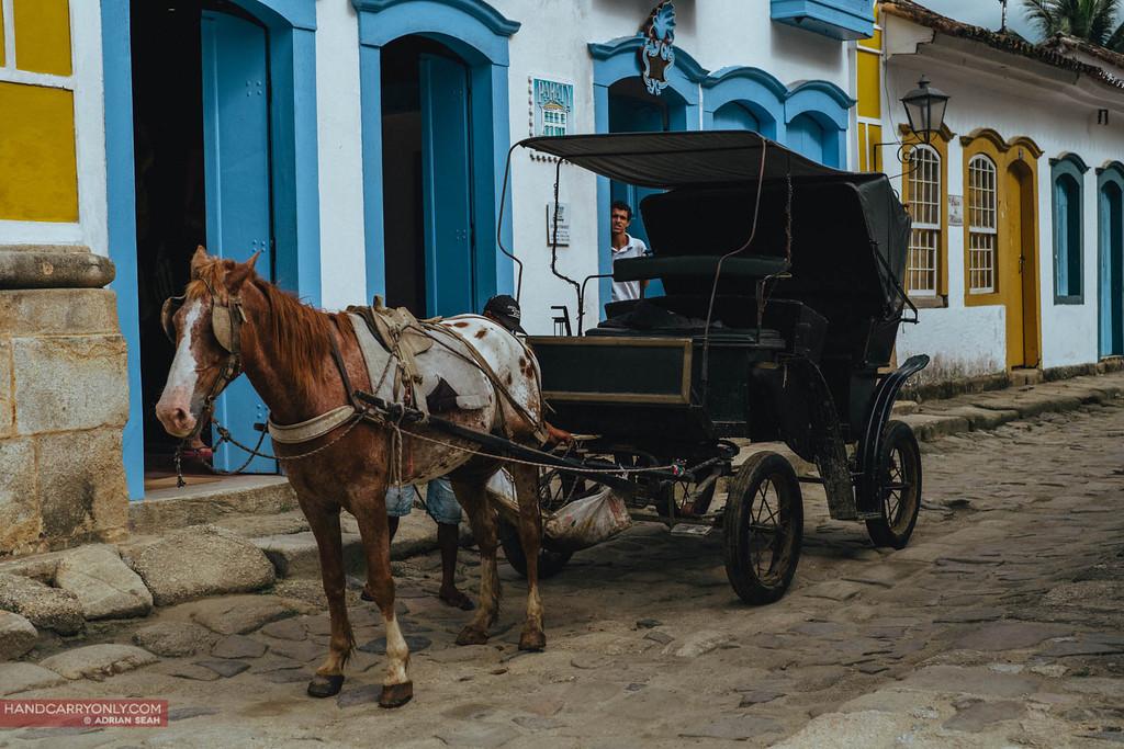 horse cart paraty