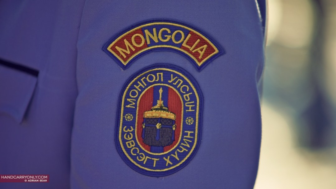 Mongolia Naadam solider decal