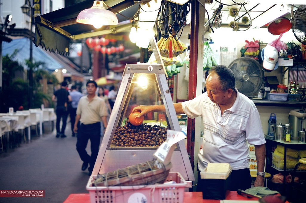 roasted chestnuts for sale