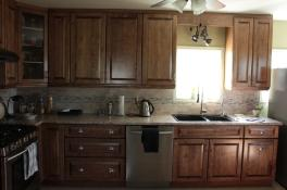 Extra storage with tall cabinetry