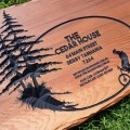 engraved-timber-sign-cedar-personalised-logo-Australian-Workshop-Creations--wooden-signs