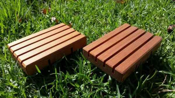 soap holders and more sustainable wood household products