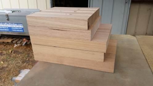 timber mill off cuts victorian ash