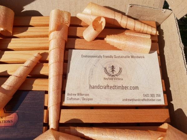 environmentally friendly packaging, cedar shavings soap holder pack cardboard mailing box closeup