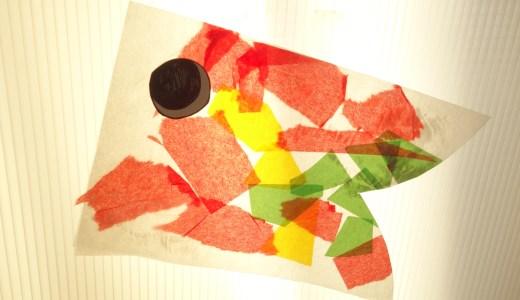 幼稚園の壁面に★ステンドグラス風こいのぼりの作り方