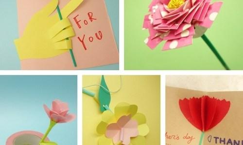 母の日に作りたい❤︎お花の工作アイデア集【幼児〜小学生】